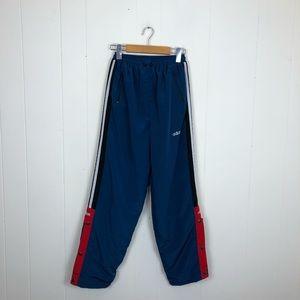 Vintage Teal Adidas Snap Track Pants Sz XS